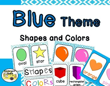 Blue Theme Shapes and Colors
