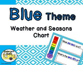 Blue Theme Weather and Seasons