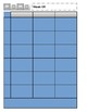 Blue Tile Teacher Planner