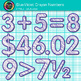 Blue-Violet Math Numbers Clip Art {Great for Classroom Decor & Resources}