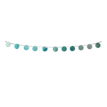Blue Watercolor Bunting Banner