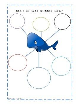 Blue Whale Bubble Map
