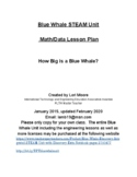 Blue Whale Discovery Integrated STEAM Unit with Discovery Data Notebook pages
