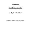 Blue Whale Integrated STEAM Unit Lesson Plans