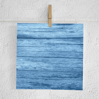 Blue Wood Scrapbook Paper