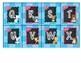 Blue Woodland Animal Alphabet Labels