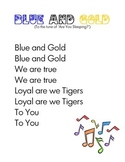 Blue and Gold Banquet Song
