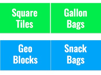 Blue and Green Labels Freebie