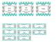 Blue and Grey Chevron Teacher Tool Box Labels {Editable!}