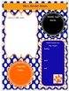 Blue and OrangeTeacher Binder Template Bundle