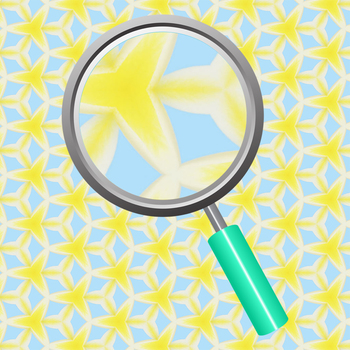 Blue and Yellow Tropical Beach Theme Backgrounds / Digital Papers Clip Art