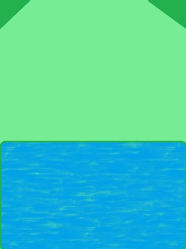 Blue and green cover