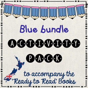 Blue bundle -  Ready to Read New Zealand