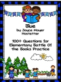 Blue by Joyce Moyer Hostetter - Over 100 EBOB Questions
