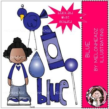 Blue clip art - Mini - by Melonheadz