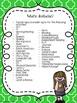 Blue/Green Class Schedule Signs & Cards