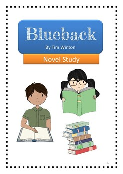 Blueback by Tim Winton HIGHER ORDER THINKING NOVEL STUDY