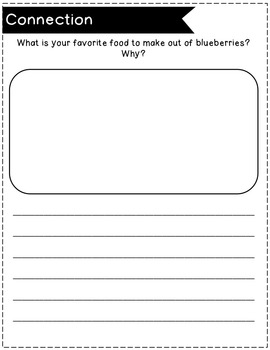 Blueberries for Sal Book Study and Lesson Plans