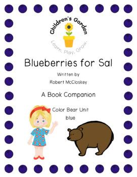 Blueberries for Sal Book Companion (Color Unit Blue)