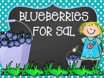 Blueberries for Sal Counting Activity