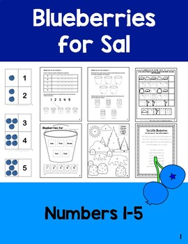 Blueberries for Sal: Numbers 1-5