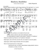 Blueberry, Bumblebee- A Back to School Song and Name Game
