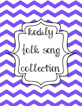 Blueberry Chevron Binder Covers: Organize Your Kodaly by Grade Level