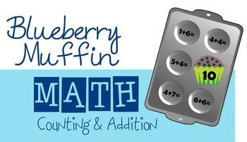 Blueberry Muffin Math (Preschool, Kindergarten)