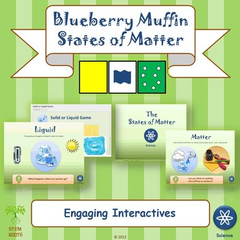 """Physical Science: """"Blueberry Muffins & States of Matter"""" Unit"""