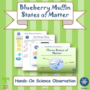 "Physical Science: ""Blueberry Muffins & States of Matter"" Unit"