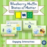 """NGSS Physical Science: """"Blueberry Muffins & States of Matt"""