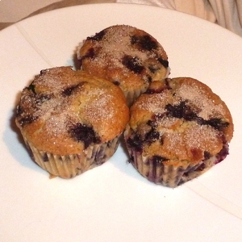 Best Blueberry Muffins - Visual Recipe (Cooking with Kids)