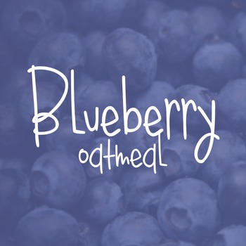 Blueberry Oatmeal Font for Commercial Use