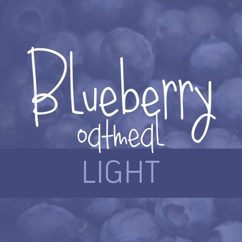 Blueberry Oatmeal Light Font for Commercial Use