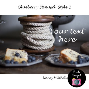 Blueberry Streusel Style 1