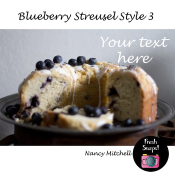Blueberry Streusel Style 3