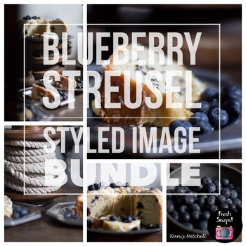 Blueberry Streusel Styled Images Bundle