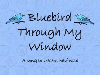Bluebird Through My Window