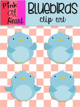 Bluebirds Clip Art