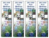 Bluebonnet Bookmarks (2017-2018)