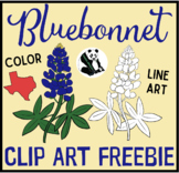 Bluebonnet Clip Art FREEBIE