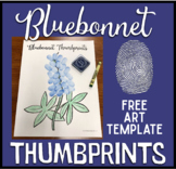 Bluebonnet Thumbprint ART Freebie!