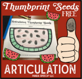 Thumbprint Watermelon Seeds Freebie!