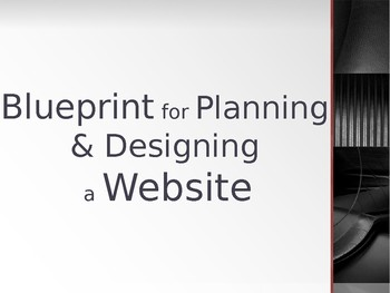 Blueprint for Building a Website - Powerpoint