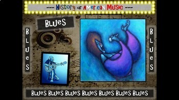 Blues: A comprehensive & engaging Music History PPT (links, handouts & more)