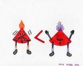 Blues Cartoon 7--Printable Montessori Fractions Cards