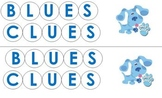 Blues Clues Dice Game
