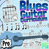 Blues Guitar Curriculum - Chords, Strumming, Scales, 12 Bar Blues & More!