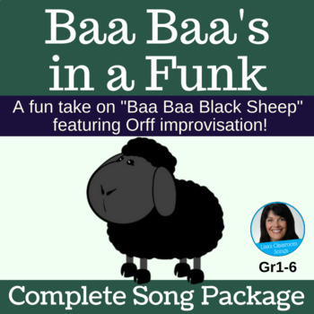 "Blues Improvisation Song | ""Baa Baa's in a Funk""  