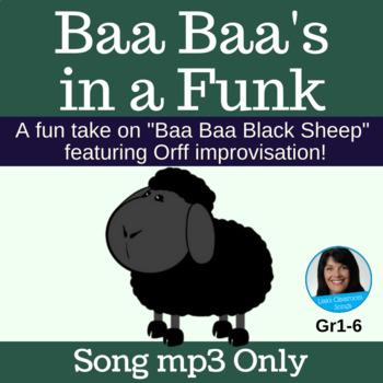 "Blues Improvisation Song | ""Baa Baa's in a Funk"" by Lisa Gillam | Song mp3"